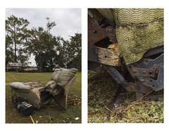 PetrellDr (novaderriese) Tags: couch couches jacksonville florida fineart abandoned torn ripped left street shadows daylight personify person love object objectification inside detail diptych psychological discarded wear tear artwithapurpose documentation documenter thoughts