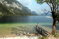 Beautiful Lake Bohinj (Alan1954) Tags: bohinj water lake slovenia holiday 2016 lakebohinj platinumpeaceaward platinumheartaward