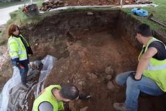 INTERVENCIN ARQUEOLXICA NO FORNO ROMANO DAS CATEDRAIS (montedaesculca) Tags: esteiro catedrais ribadeo forno romano ceramica
