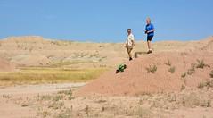 Playing in the Badlands (Bubash) Tags: rock crawler remote control father son good memories badlands southdakota familyfun