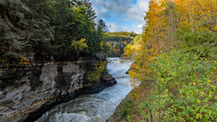 Lower Falls (Paul Bryd) Tags: landscape nature state park letchworth water falls geneseeriver gorge