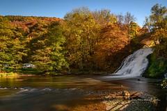 Waterfall at Coo