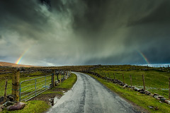 Road to rainbow (Free Derry) Tags: ireland irlanda mayo mularanny rainbow ngc
