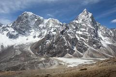 Taboche and Cholatse (D A Scott) Tags: everest base camp tokyo lakes trek himalayas nepal asia mountains