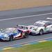 Ford Chip Ganassi Team USA's Ford GT EcoBoost and Porsche Motorsport's Porsche 911 RSR
