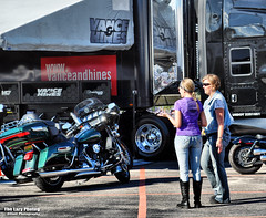 Aug 8 2016 - Not sure which one is Vance and which one is Hines (lazy_photog) Tags: lazy photog elliott photography black hills harley davidson rapid city south dakota during sturgis motorcycle rally races vendors biker babes 080816sturgisdaythree
