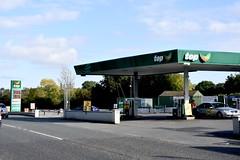 Top, Cushingstown Meath Ireland. (EYBusman) Tags: top petrol gas gasoline filling service station garage cushingstown county meath republic ireland spar eybusman