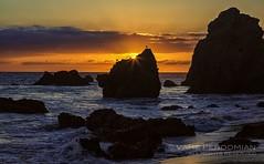 October Sunset (vahephoto) Tags: malibu sunset elmatadorstatebeach malibubeach malibusunset dusk beach pacificocean