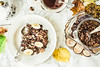 Homemade Ñhocolate granola with banana and peanut butter,autumn background (harmonyandtaste) Tags: autumn background berry bowl breakfast cereal chocolate cleaneating closeup country dairyfree delicious dessert diet dry food fresh fruit glutenfree goji gourmet grain granola greek healthy healthylifestyle homemade meal metabolism morning muesli natural nobody nutrition oat oatmeal onlyhealthyingredients organic parfait plantbased plate rustic seed snack sweet vegan warmbackground white wooden