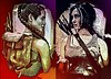 'Lara Croft: Past and Present' (vince.warrican) Tags: tombraider laracroft videogames videogamecharacters beautiful badasswoman badass badasswomen pastandpresent portrait woman adventure treasurehunter tombraiderreboot colourful colourfulportrait angelinajolie survivor reborn reboot illustration tombraiderreborn
