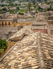 Roofs of Ragusa Italy (Alberto Vanoli) Tags: map houses building historic manmade italy detail color cityline photo texture