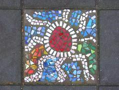 mosaic 10 (streamer020nl) Tags: pavement tile tegel mozaiek mosaic mosaics holland almere flevoland pavemostile