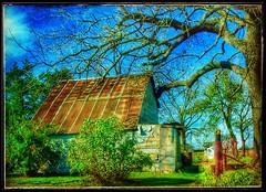 Textures... (Sherrianne100) Tags: ozarks missouri farm rustic rural rusty textures shed oldbarn barn