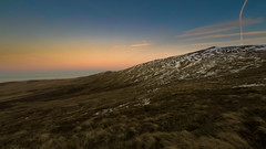 The light fades were below the snow line just a few miles back to the car to go (milo42) Tags: wales gopro hiking httpwwwchrisnewhamphotographycouk gw183 2016 snow ice cold llanfairfechan unitedkingdom gb