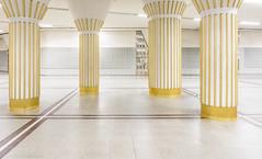 Late Night Temple (katrin glaesmann) Tags: ubahnhof metro tube station workshop frankfurt bockenheimerwarte