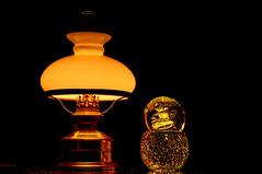 Moodlight (montagestaender) Tags: oillamp llampe lowkey light licht composition color farbe black schwarz