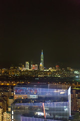 View of Taipei 101 in the Distance (saebaryo) Tags: canoneos5dmarkiii canon 5d3 5diii canon2470mmf28l 2470mm ferriswheel taipei taiwan taipei101