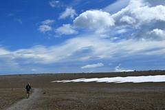 On Burroughs Flats (Sotosoroto) Tags: dayhike hiking mtrainier rainier burroughsmountain burroughsmtn mountains washington cascades trail clouds sky