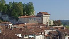 DSCF0094 Aubeterre-sur-Dronne (Charente) (Thomas The Baguette) Tags: aubeterresurdronne charente france monolith cave church tympanum glise glisenotredame saintjacques caminodesantiago sexyguy chateau cloister minimes mithra mithras cult