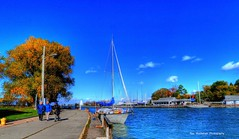 lakeside park in port (Rex Montalban Photography) Tags: rexmontalbanphotography hdr photomatix portdalhousie