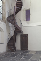 Das verbotene Zimmer (Paolo Cagliero) Tags: amsterdam oude kerk stair mysterious