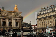 Rainbow at Palais Garnier, Paris (roisin.grace) Tags: paris palaisgarnier opera rainbow france travel