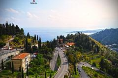 Taormina Landscape (stefaniapero) Tags: landscapes taormina sicily seascape italy italia travel city