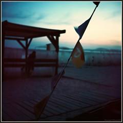 Sunset in Koblevo. Black Sea, Ukraine. (Ігор Кириловський) Tags: sunset koblevo blacksea ukraine tlr rolleicord vb typeii schneiderkrauznach xenar 75mm f35 kodak ektar100 rolleih1