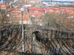 Stairs at Skansen Kronan 2013 (biketommy999) Tags: 2013 skansenkronan fortress utsiktsplats viewpoint kulturminne göteborg fästning