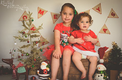 DSC_0209-Edit (Klicked Photography) Tags: christmas matte warm hazy xmas red green snow lights tree santa reindeer decorations merrychristmas merryxmas northpole love kids children child bear teddy cuddles sisters vignette nikon d5100 faded