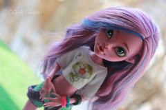 IMG_1862 (Cleo6666) Tags: monsterhigh monster high kjersti trollson mattel ooak repaint doll custom