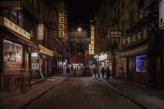 Chinatown (karinavera) Tags: travel sonya7r2 newyork street people chinatown night urban city