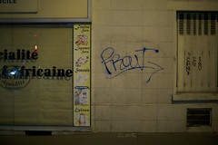 Prout (.Rgsoixantedixhuitclan.) Tags: tag handstyle night posie