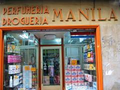 Perfumera MANILA, 2004 (eltercerojo) Tags: streetphotography typography typo signporn sign signhunter madridgrafico madrid photobook