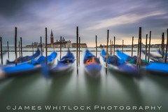 Piazza San Marco (James Whitlock Photography) Tags: italy venice gondola grand canal lido post pier jetty colourful piazza san marco moody cloudy sunset showers storm blue cover boat water long exposure nikon d810 lee filters gitzo