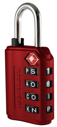 新鲜好玩:Wordlock 字母行李密码锁$6.88