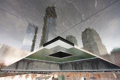 Zero Reflection (China Chas) Tags: nyc usa newyork reflection america waterfall worldtradecenter 911 wtc remembrance groundzero 1022mm 2012 911memorial