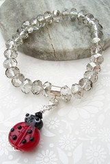 SNB19701 (Glittering Prize - Trudi) Tags: silver crystal charm jewellery faceted bracelets sterling jewelery