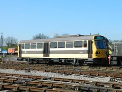 Railbus RB2004 at Swanwick Junction. (Dave Wragg) Tags: railbus midlandrailwaycentre class141 rb2004 singlecarunit