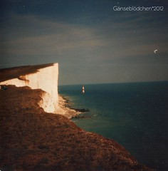 Beachy Head, 1991 (gnsebldchen) Tags: analog