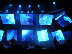 R A D I O _ H E / A D - The King of Limbs - Foro Sol, México DF, 17 Abril 2012 (Súper César Augusto) Tags: méxico tour radiohead thomyorkejonnygreenwood tkol thekingoflimbs