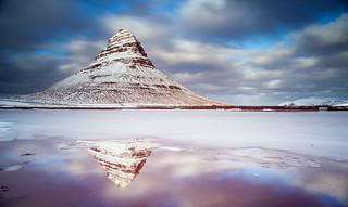 On Ice | Kirkjufell, Western Iceland