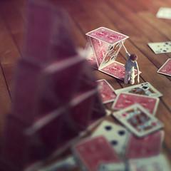 build (fiddleoak) Tags: portrait selfportrait building self king card build zev spade cardhouse kingofspades