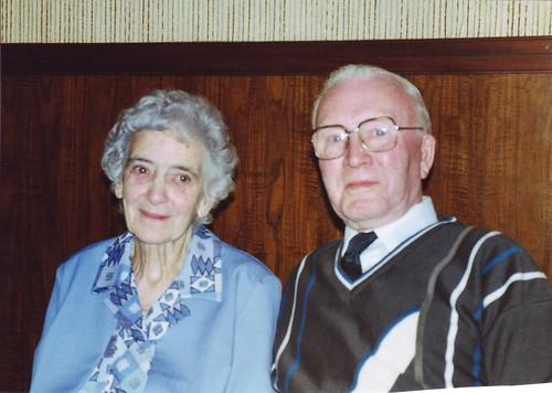 Mr & Mrs White. 15 Crowlin Cres. 1976