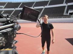 European Championships Helsinki 2012 filming (Matti Vesterinen) Tags: athletics javelin yleisurheilu yeli keihäs ylei
