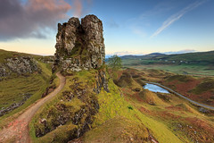 Fairy Glen 'Castle', Isle of Skye (KennethVerburg.nl) Tags: uk landscape scotland isleofskye unitedkingdom uig landschap schotland fairyglen verenigdkoninkrijk