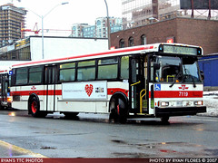 7119_20071223_IMG_0682 (R. Flores) Tags: toronto ontario canada bus buses america diesel ttc north 1996 v commercial transit orion chrysler commission industries daimler 05501 dccbna