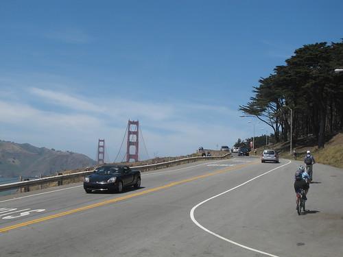 Lincoln Boulevard near the Golden Gate