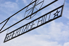 Heritage Hill-McChord Air Museum (MDawny72) Tags: blue summer sky mountain beautiful birds museum spring arm flight planes mcchord retired mtrainier base starlings heritagehill jblm