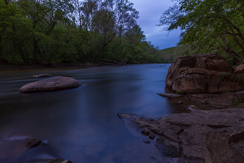Night Creeps in along the Gunpowder River
